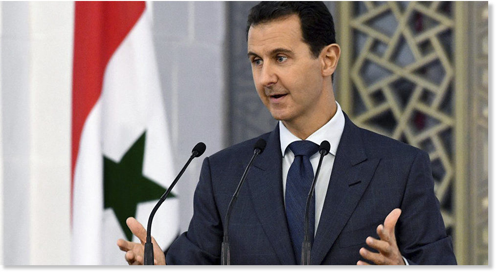 US Tacitly Admits Defeat to Russia in Syria, White House Reportedly Accepts Assad's Rule Until 2021 Elections -- Sott.net