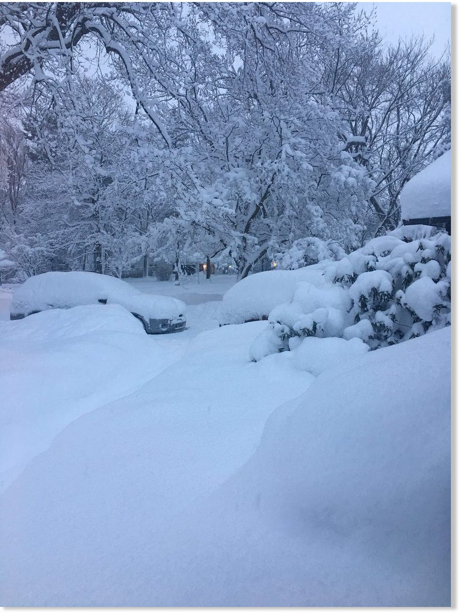 Record-shattering 53 inches of snow in 30 hours for Erie ...