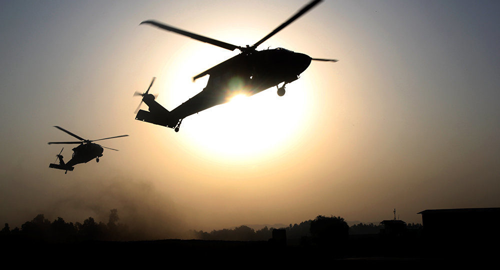 US helicopters spotted in NE Syria evacuating ISIS terrorists from prison -- Sott.net