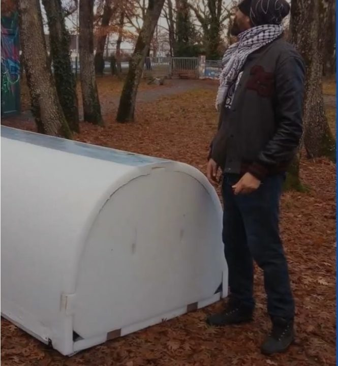 Initiatives to helps homeless people shelter from the cold include this igloo from a Bordeaux inventor & Pop-up igloo: Inventive ideas for Franceu0027s homeless -- Societyu0027s ...
