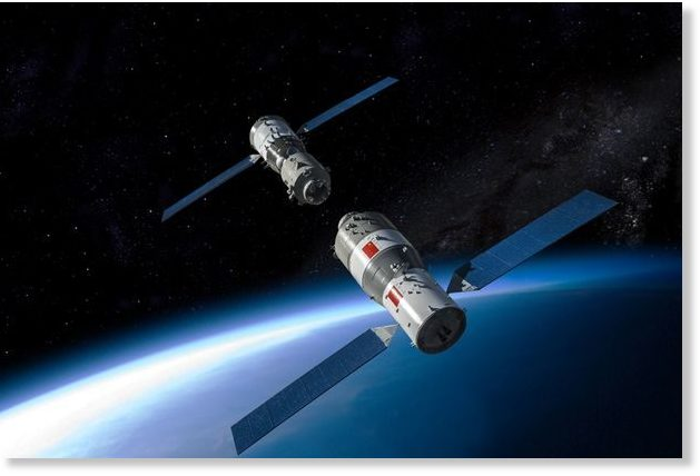 outofcontrol chinese space station tiangong1 will