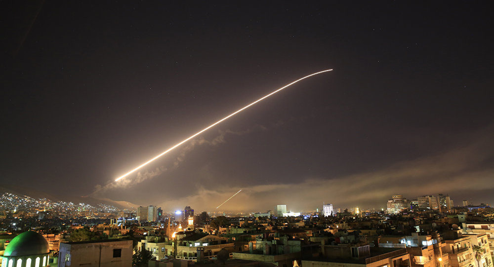 Breaking Trump Announces Us Uk And France Launched Missile Strikes Against Syria Updates