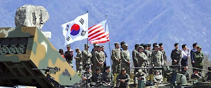 Image result for us troops in south korea