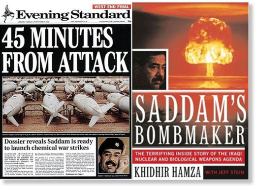 Saddam chemical weapons lies