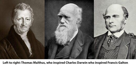 Malthus - Darwin -Galton