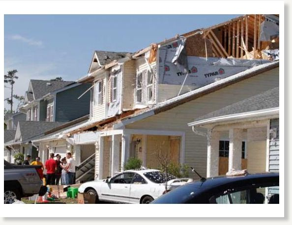 Camp lejeune housing community ravaged by storm earth for Tarawa terrace 2