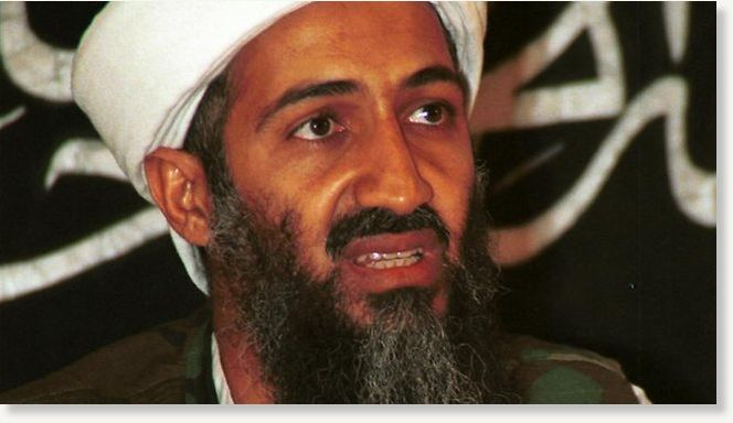 Photo bin laden osama death