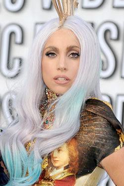 Lady Gaga Gray Hair