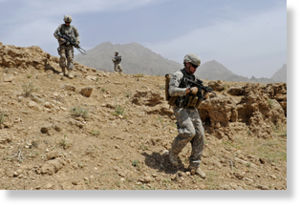 Afghanistan troop surge