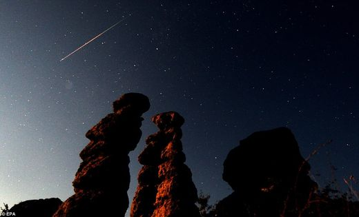 persied meteor shower 2011