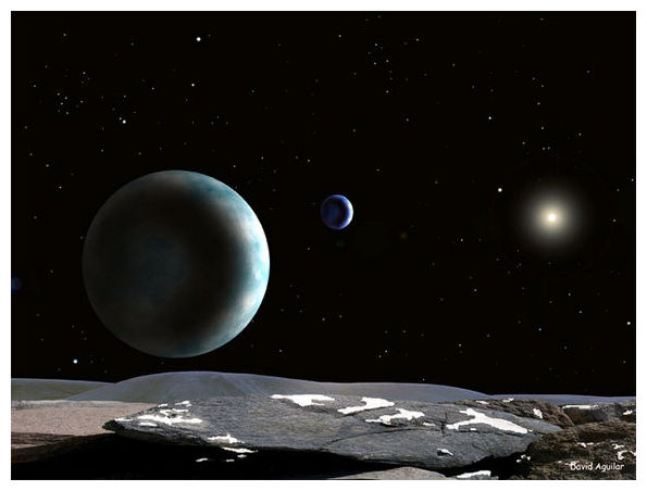 cold is pluto planet surface - photo #36