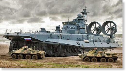 Russian military exercises, file image.