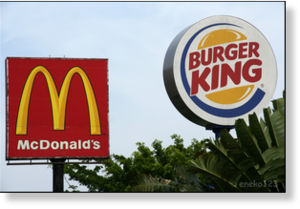 Mc Donald's, Burger King