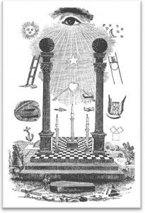 Masonic Tracing Board
