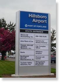 hillsboro,airport