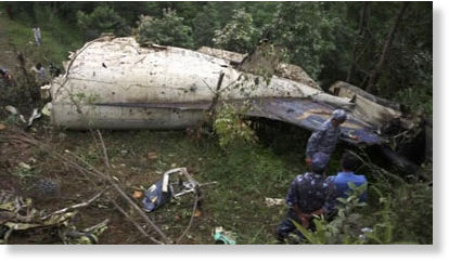 Nepal Tourist Plane Crash Kills 19 On Board -- Society's Child ...