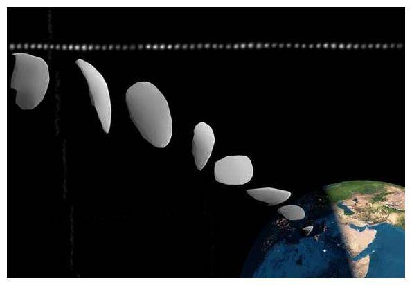 Asteroid 2008 TC3