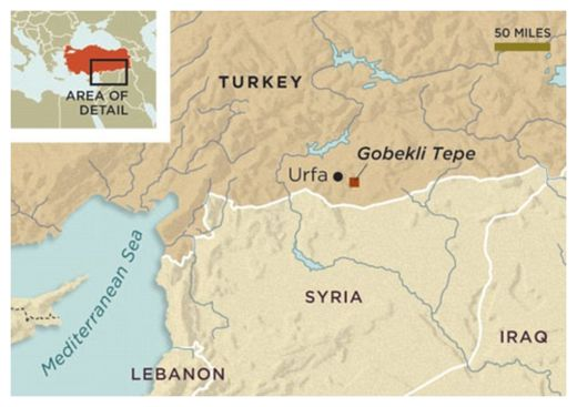 Gobekli Tepe Location Map