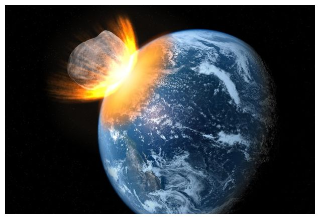 Continent Killer Asteroid On Possible Collision Course