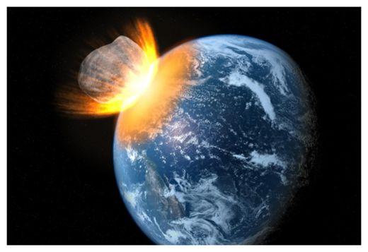 Giant Asteroid Impact