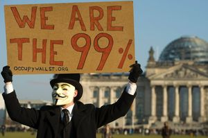 occupy, berlin, guy fawkes