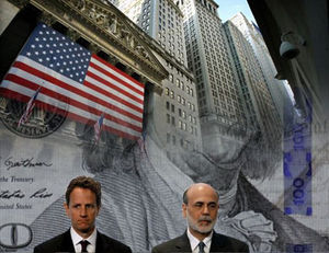 Timothy Geithner and Ben Bernanke