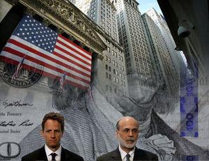 Timothy Geithner and Ben Bernanke