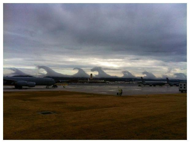 Teria o Haarp causado estas nuvens estranhas no céu do Alabama?