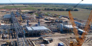Koch Industries helped design this facility in Texas to process natural gas fracked from the Eagle Ford formation.