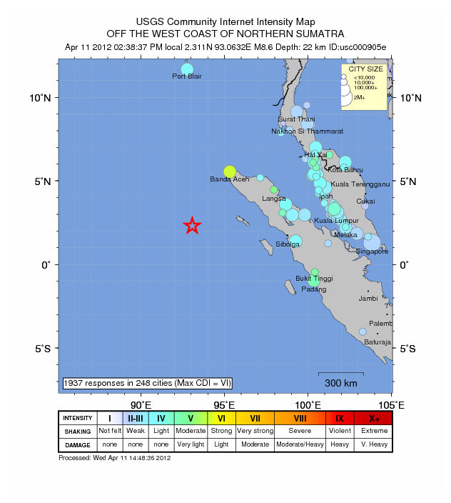 Why Today's INDONESIA QUAKE Didn't Make a Monster Tsunami -- Earth ...