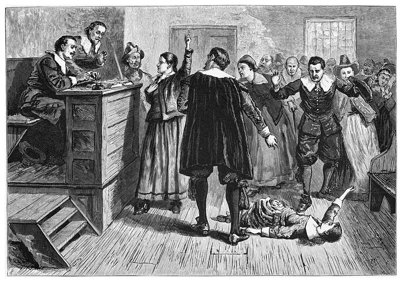 thesis for salem witch trials