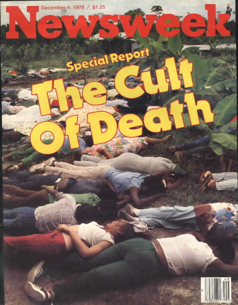 arguement on jonestown death as a Jonestown researcher katherine hill made the connection explicit in a 2016 essay titled he does not harbor a death wish less willing to hear argument.