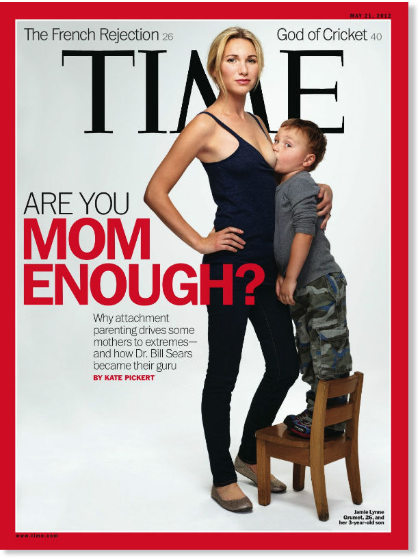 Time Breastfeeding Cover Sparks Controversy -- Society's Child ...