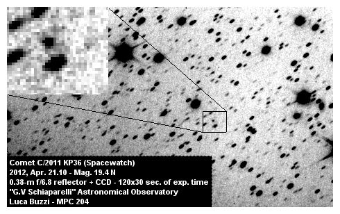 Comet 2011 KP36_1