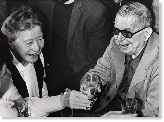 relationship between jean paul sartre and simone de beauvoir