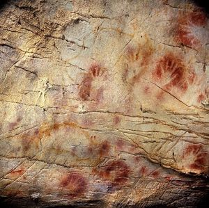 spanish cave painting