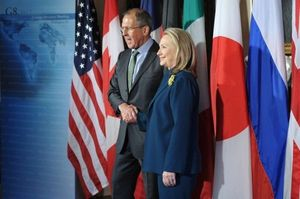 Clinton and Lavrov