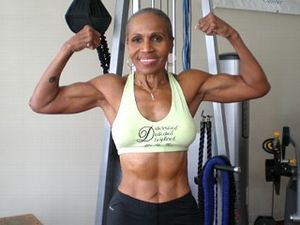 bodybuilder grandmother