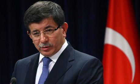 Ahmet Davutoglu turkey foreign minister