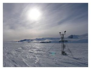 Antarctica weather station