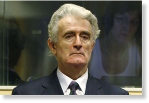 Court drops karadzic genocide charge puppet masters for Lampen reuter