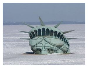 Liberty In Ice