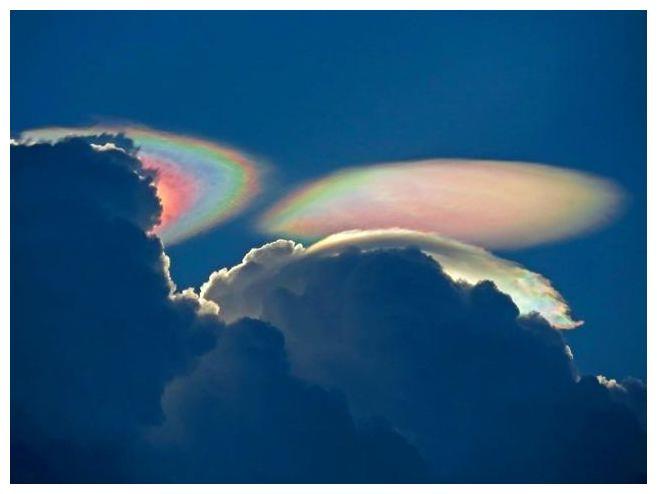 Iridescent Clouds Florida or Iridescent Cloud