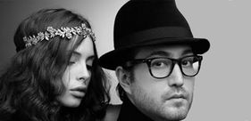Sean Lennon and his girlfriend, Charlotte Kemp Muhl
