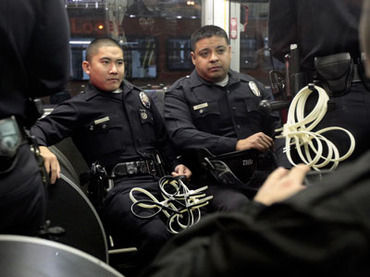 Police State Five Lapd Under Investigation Over Woman S
