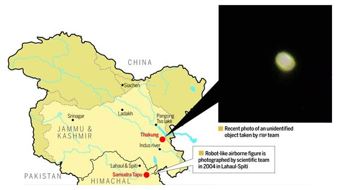 situation along india and china border