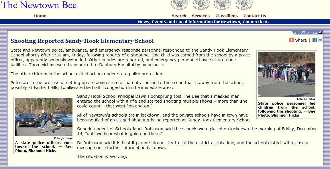 Sandy Hook Pot Holes In The Story Multiple Gunmen And The Motives