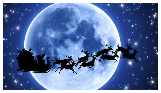 Santa's 'flying' reindeer story traced back to magic mushrooms ...