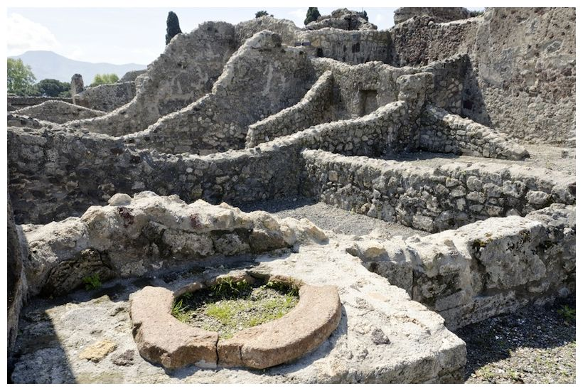 Pompeii  wall posts  reveal ancient social networksPompeii Ruins Bodies