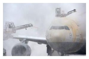 De-Icing an Airplane